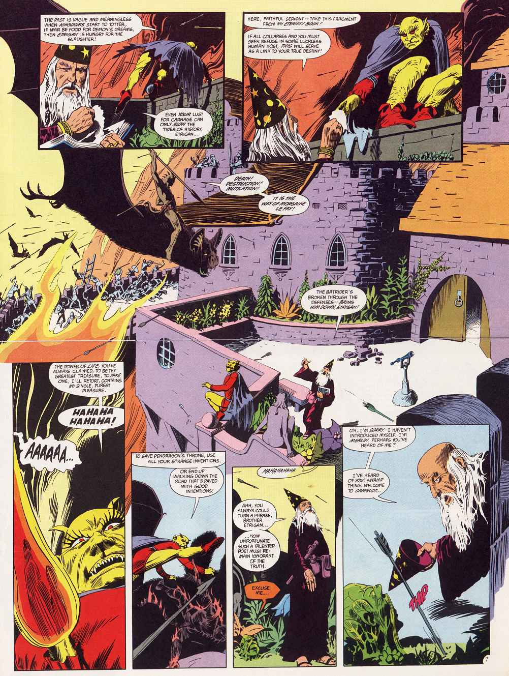 Swamp Thing (1982) Issue #87 #95 - English 5