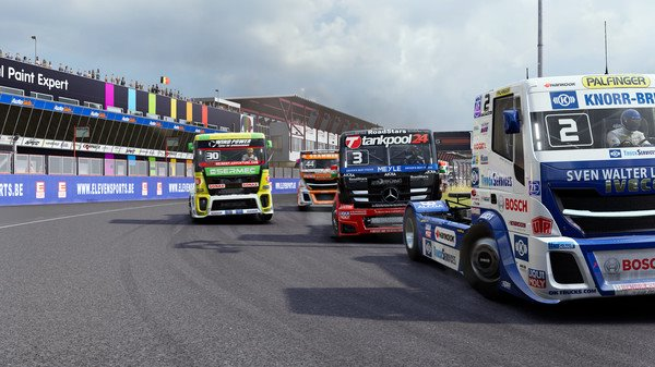 FIA European Truck Racing Championship PC Full Español