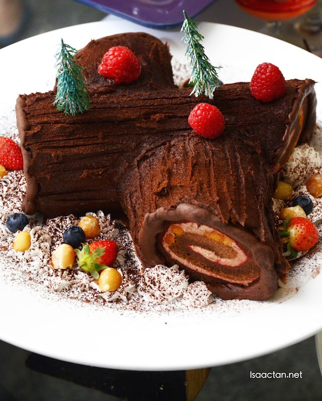 Chocolate logs