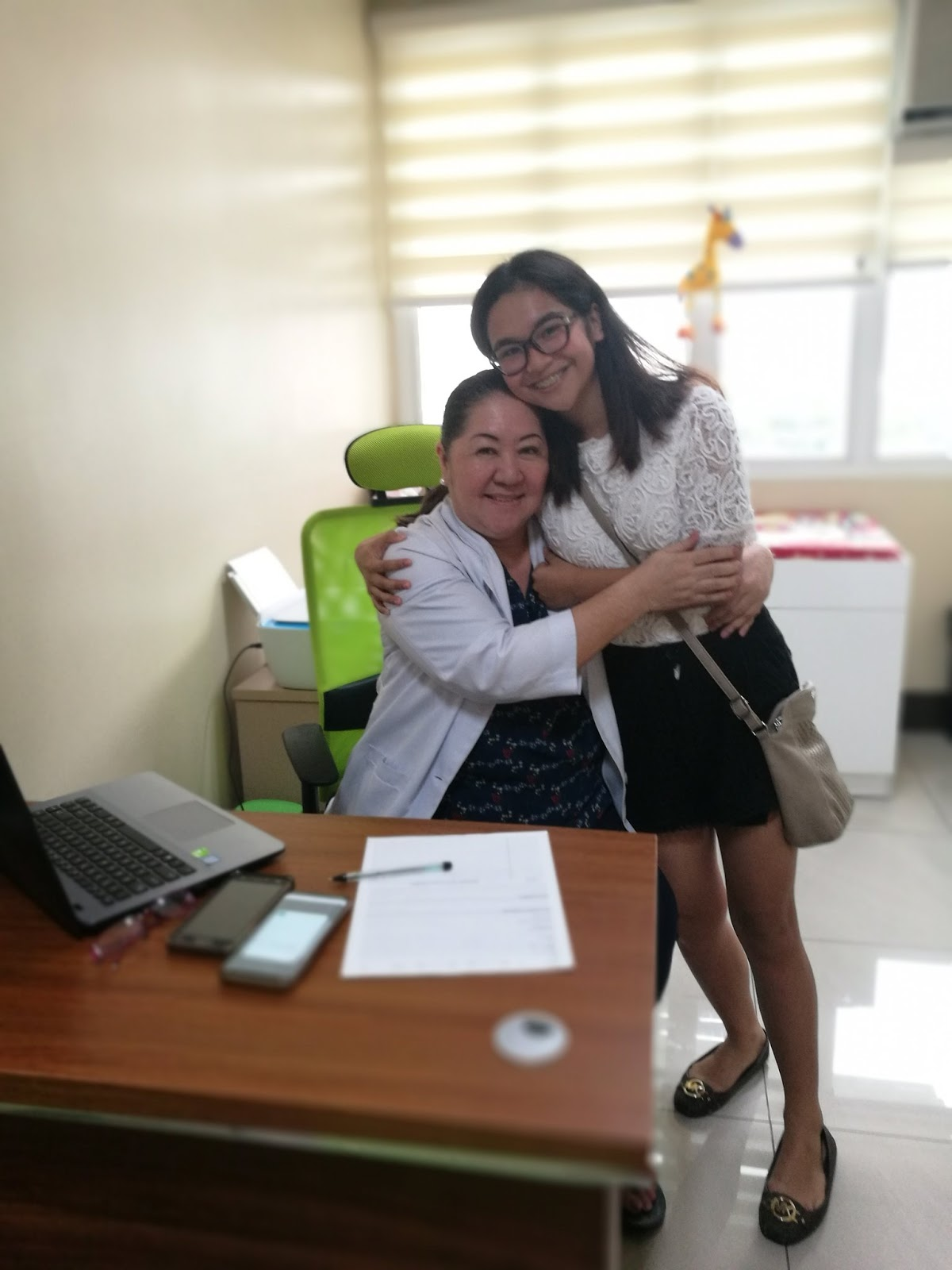 Arabella Garciano saved by doctor