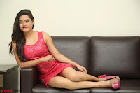 Shipra Gaur in Pink Short Micro Mini Tight Dress ~  Exclusive 015.JPG