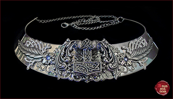 Collier-Viking-Marteau-de-Thor-Freya-Celtique-Mjollnir-Celtic-Lady-Necklace-Thor-Hammer