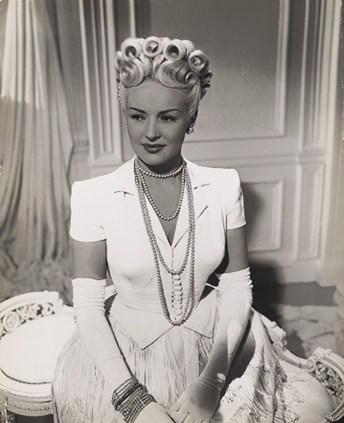 haircut at home today s birthday is betty grable retro goddesses 1946