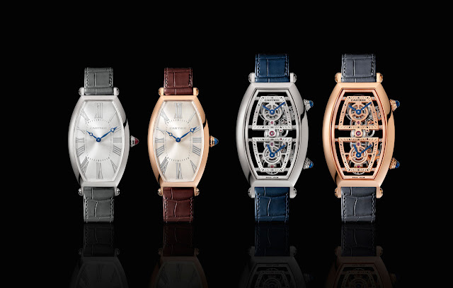 Cartier Privé Collection, Tonneau watches 2019
