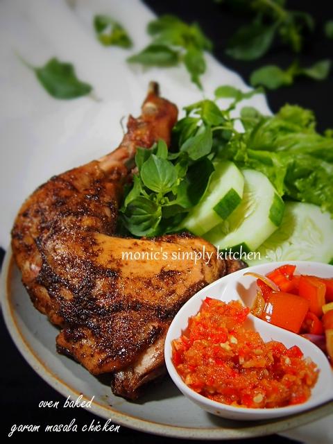 resep ayam panggang garam masalan