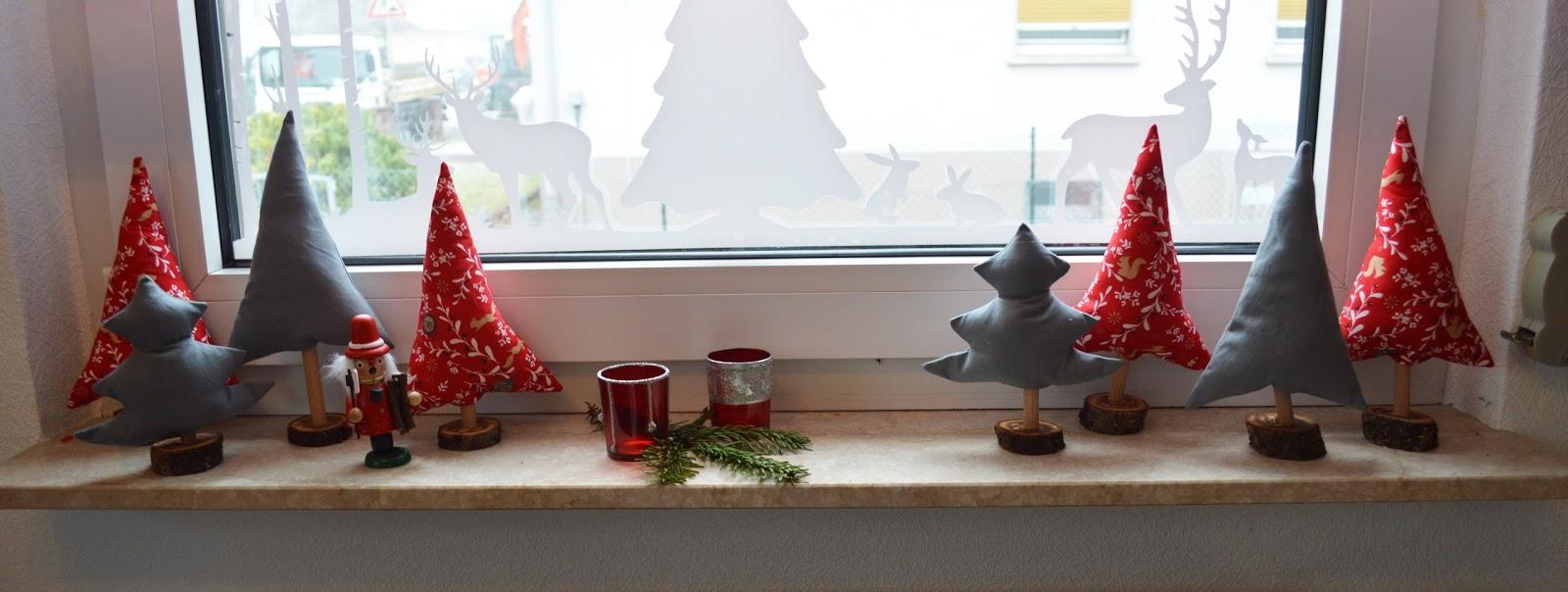 ideenwiese tannenb umchen f r die fensterbank. Black Bedroom Furniture Sets. Home Design Ideas