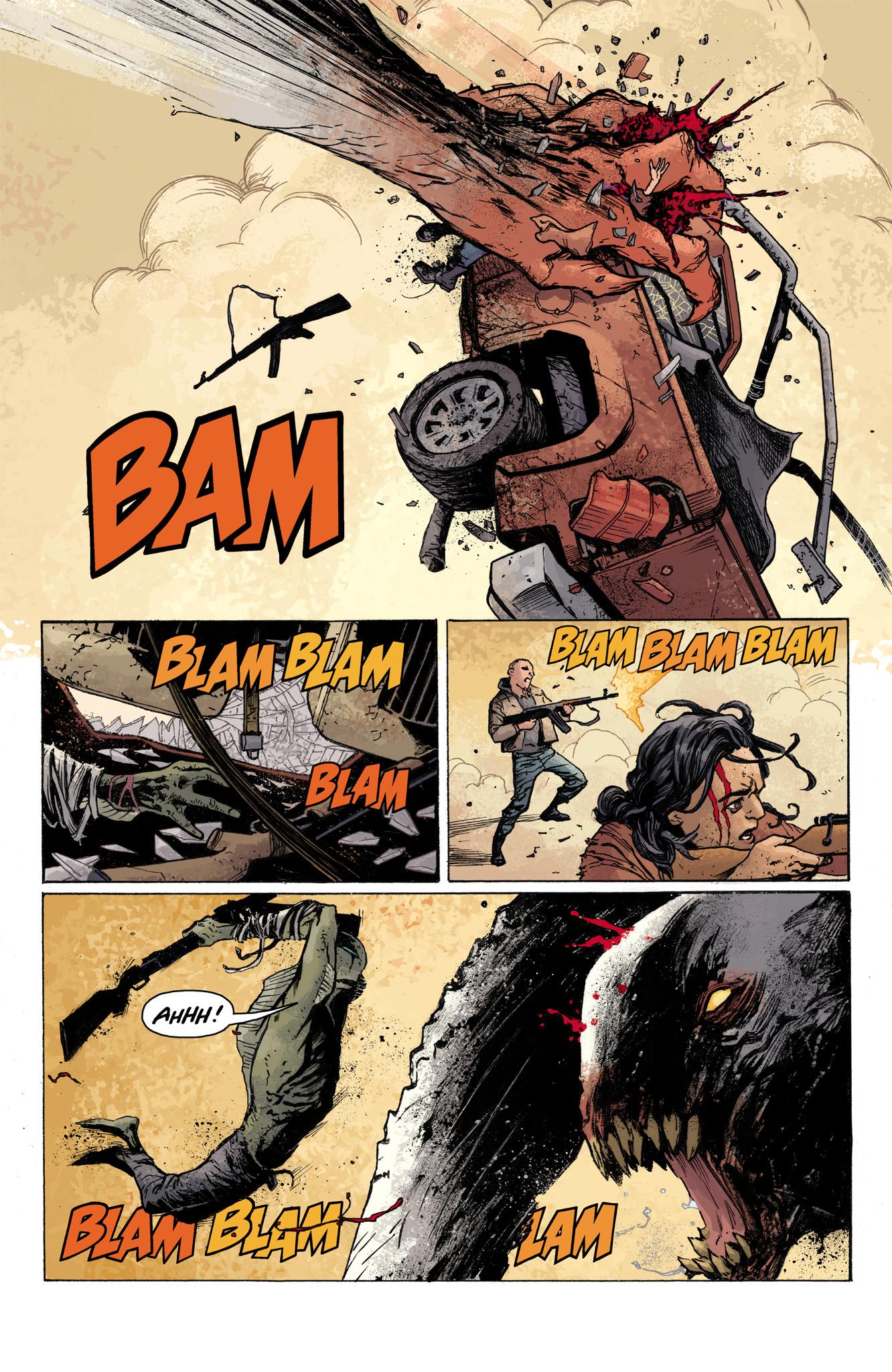 Read online Abe Sapien comic -  Issue #7 - 18