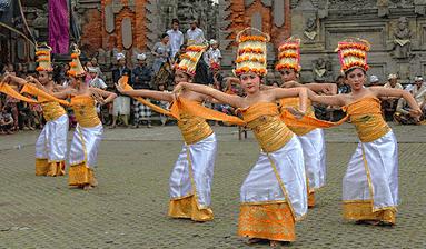 Tari Rejang Tarian Tradisional Pulau Bali