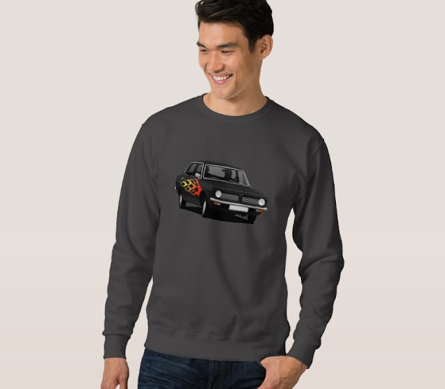 Retro and pimped Morris Marina shirt