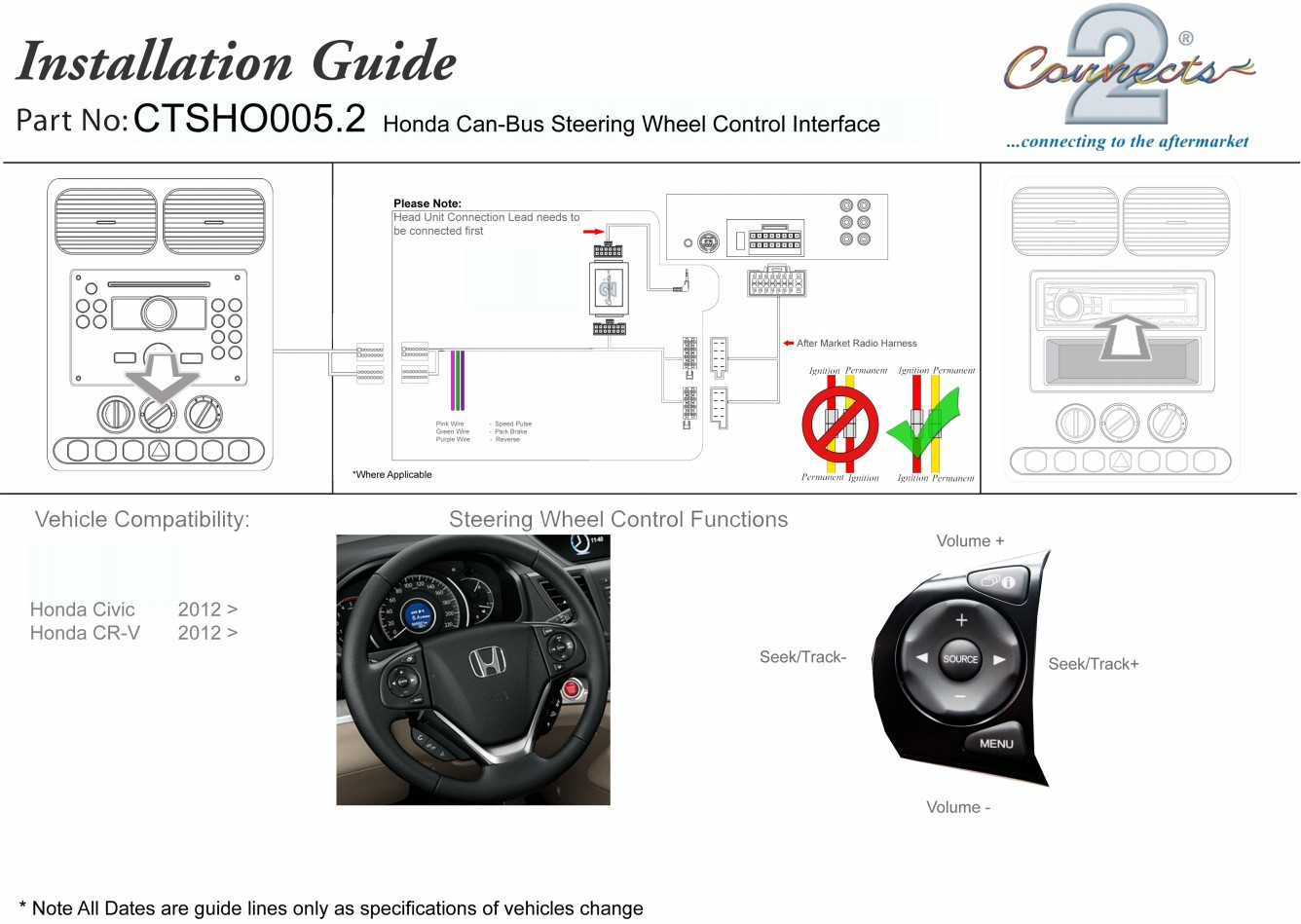 99 00 Civic Radio Wiring Diagram 240 Volt Single Phase Motor Honda Steering Diy Enthusiasts