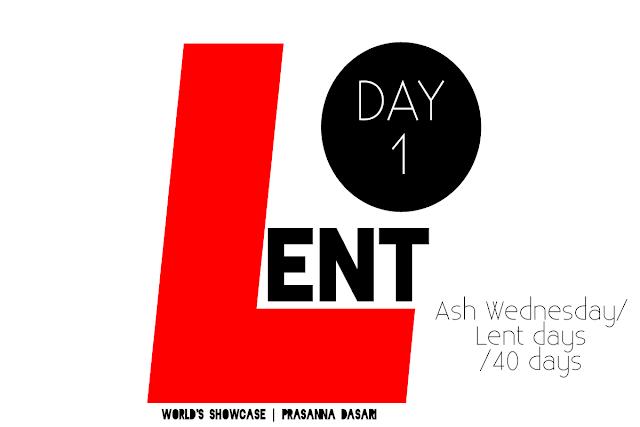 Lent Days 2017 - World's Showcase