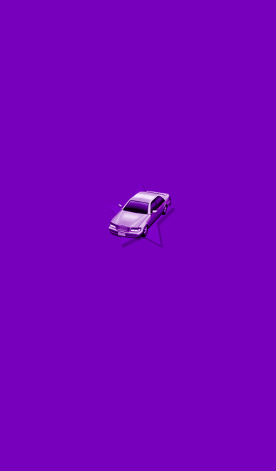 Simple Purple Car