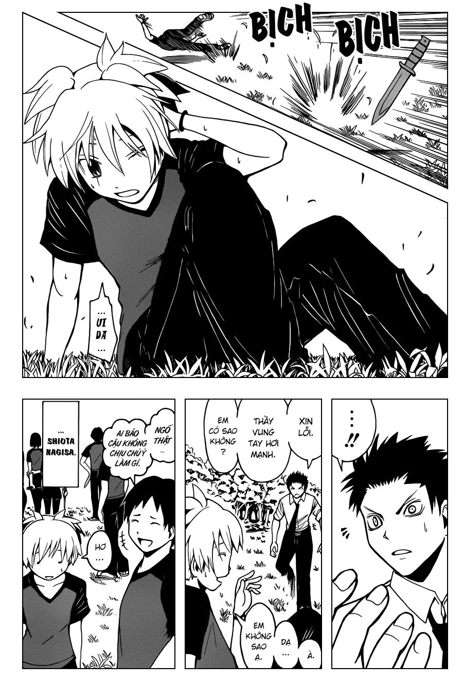 Ansatsu Kyoushitsu chap 38 trang 10