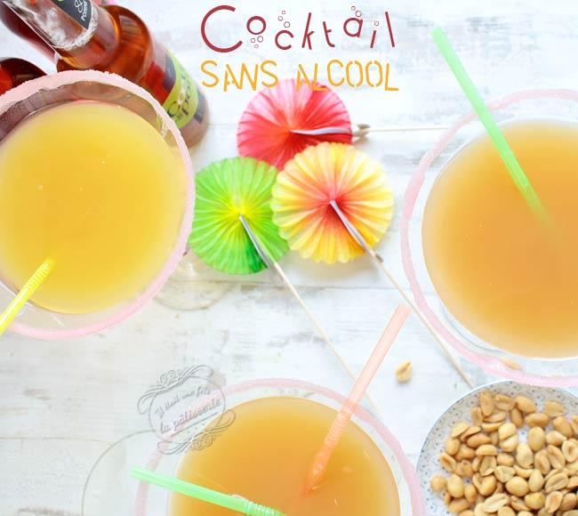 recette sans alcool cocktail