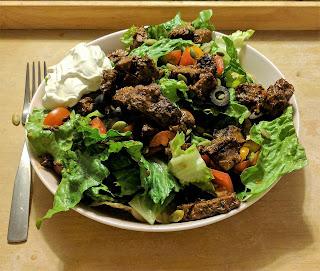 Taco Salad, no cheese
