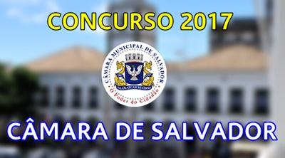 Concurso Câmara de Salvador BA 2017/2018