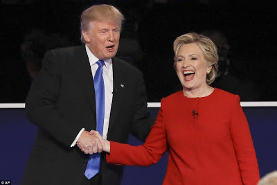 Estimated 84 million US TV viewers watched the Trump - Clinton 2016 presidential debate