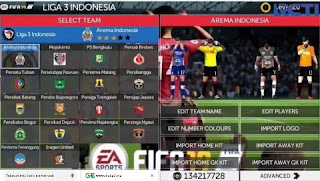 Download FTS 19 MOD FIFA 19 Update Transfers, Gojek, Asian Games, Aff 2018 And Others