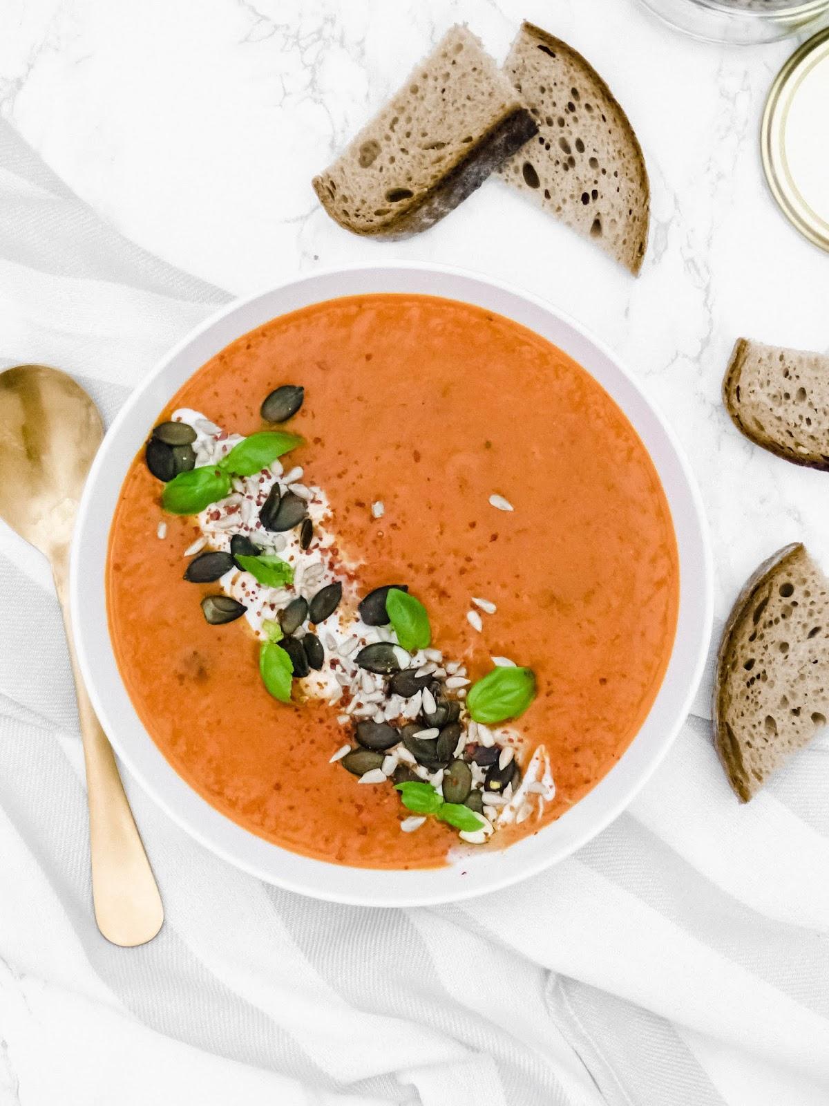 Paprika-Kartoffel-Suppe