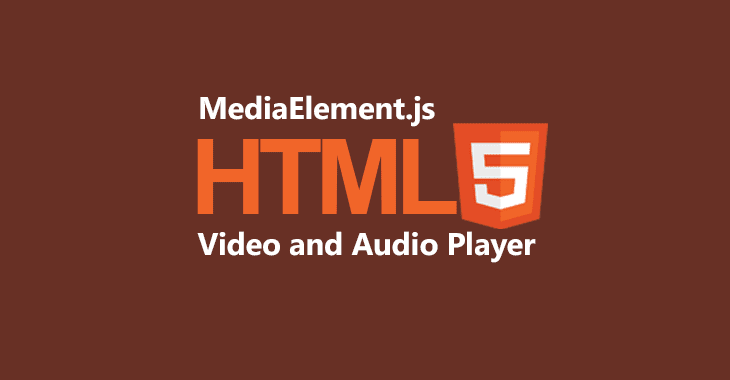 MediaElementjs-Audio-and-Video-player
