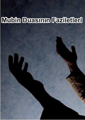 Mubin Duasının Faziletleri