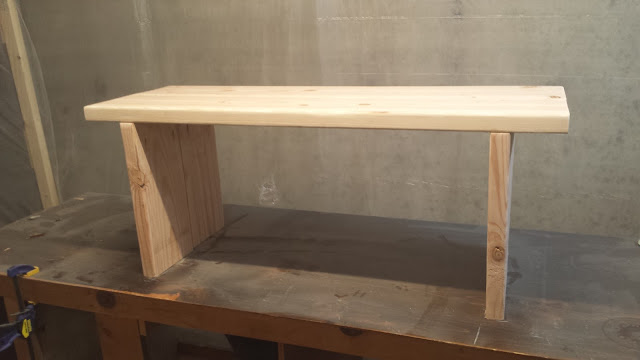 Build simple modern bench