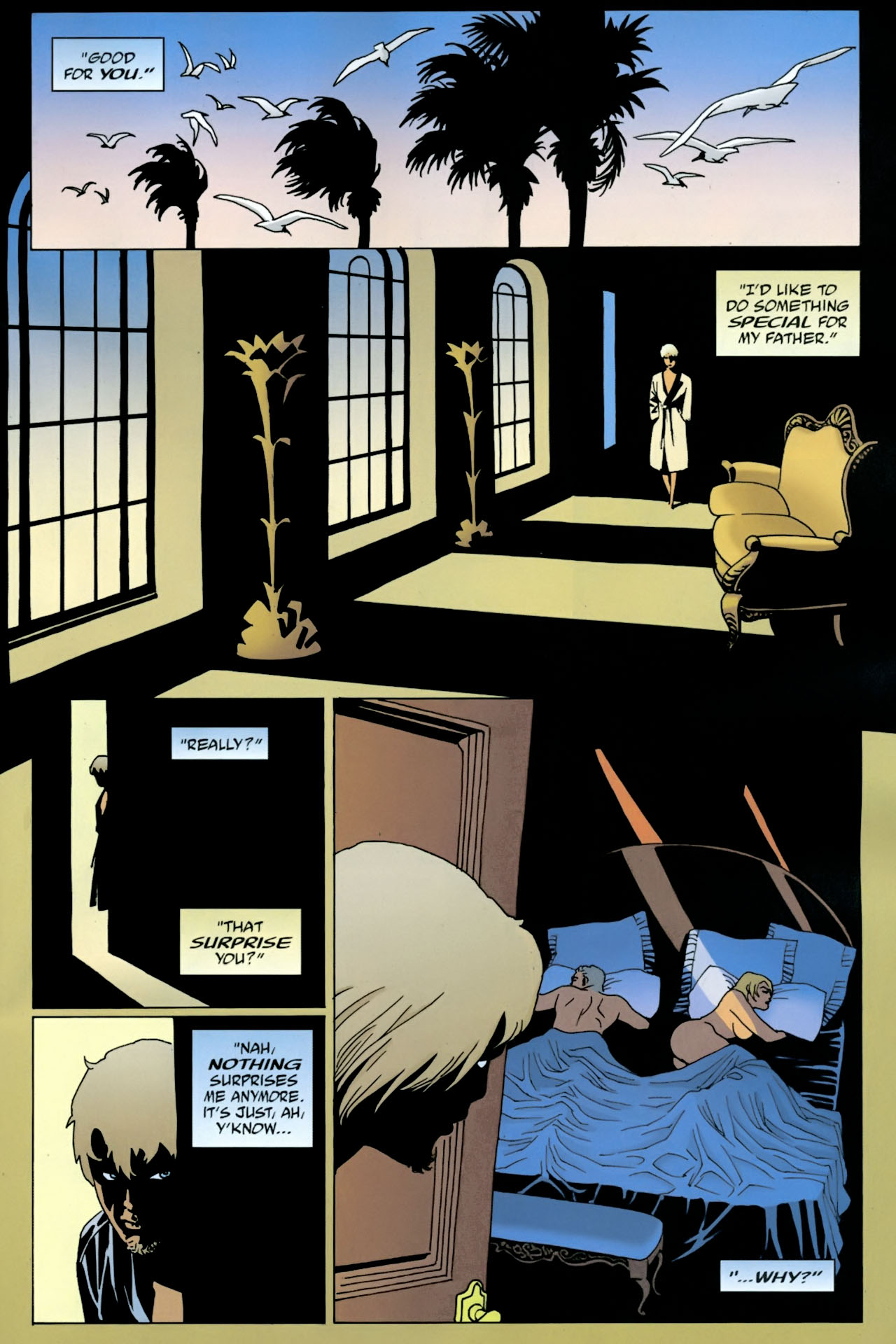 Read online 100 Bullets comic -  Issue #90 - 11