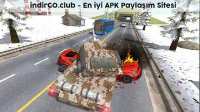 tank traffic racer hile apk