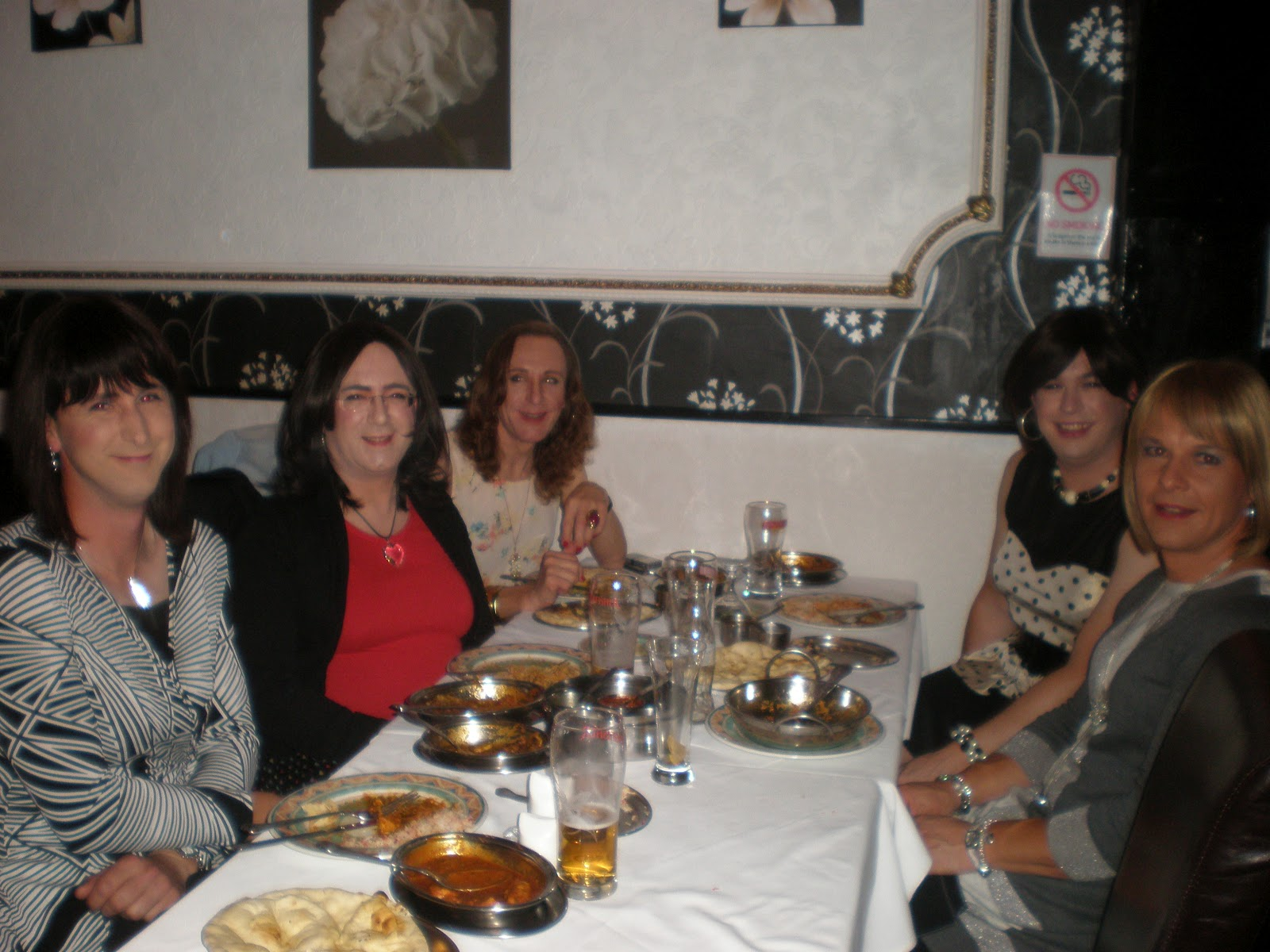 Good food and good company. At Noor Jahan with some of my closest friends.