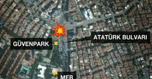 Ankara kızılay'da bomba patladı