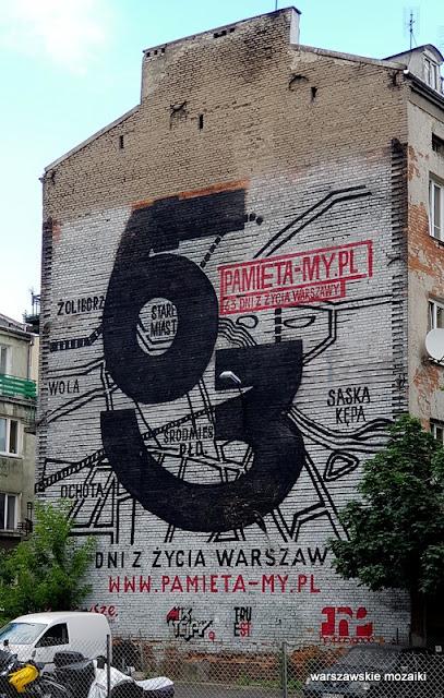 Warszawa Warsaw mural graffiti street art streetart Praga Północ Szmulowizna