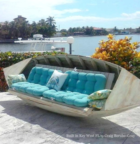 Boat Couch Sofa