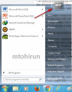 Cara memberi password pada windows 7