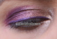 Purple smoky eye EOTD look with Sleek Vintage Romance palette