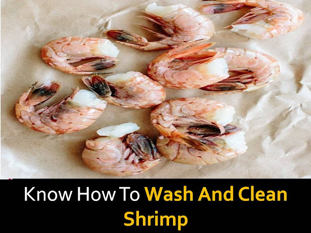 How to wash and clean shrimp