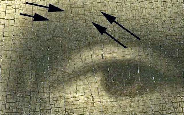 kode rahasia mona lisa di mata