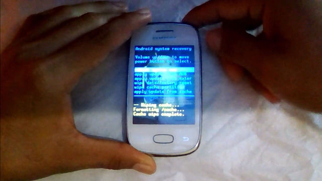 How to Hard Reset SAMSUNG S5300 Galaxy Pocket