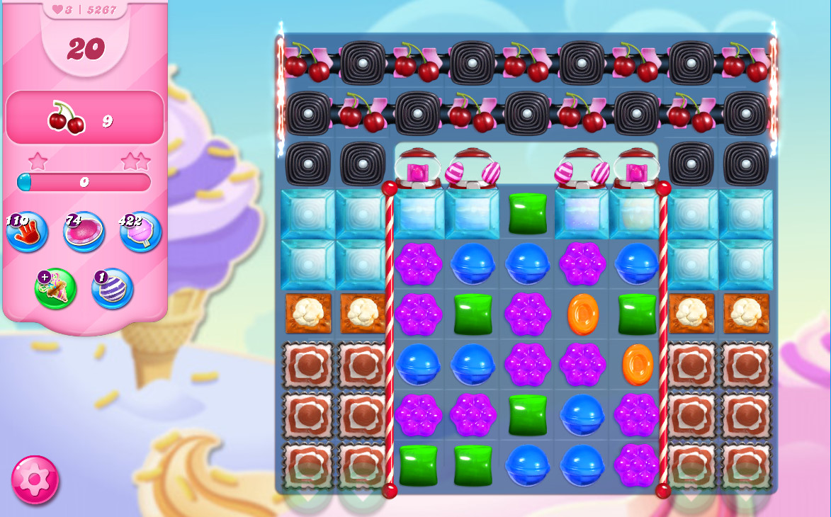 Candy Crush Saga level 5267