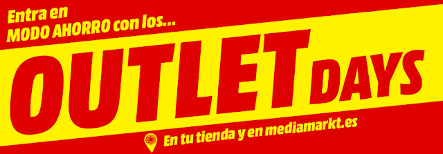 Top 10 ofertas folleto Outlet Days de Media Markt