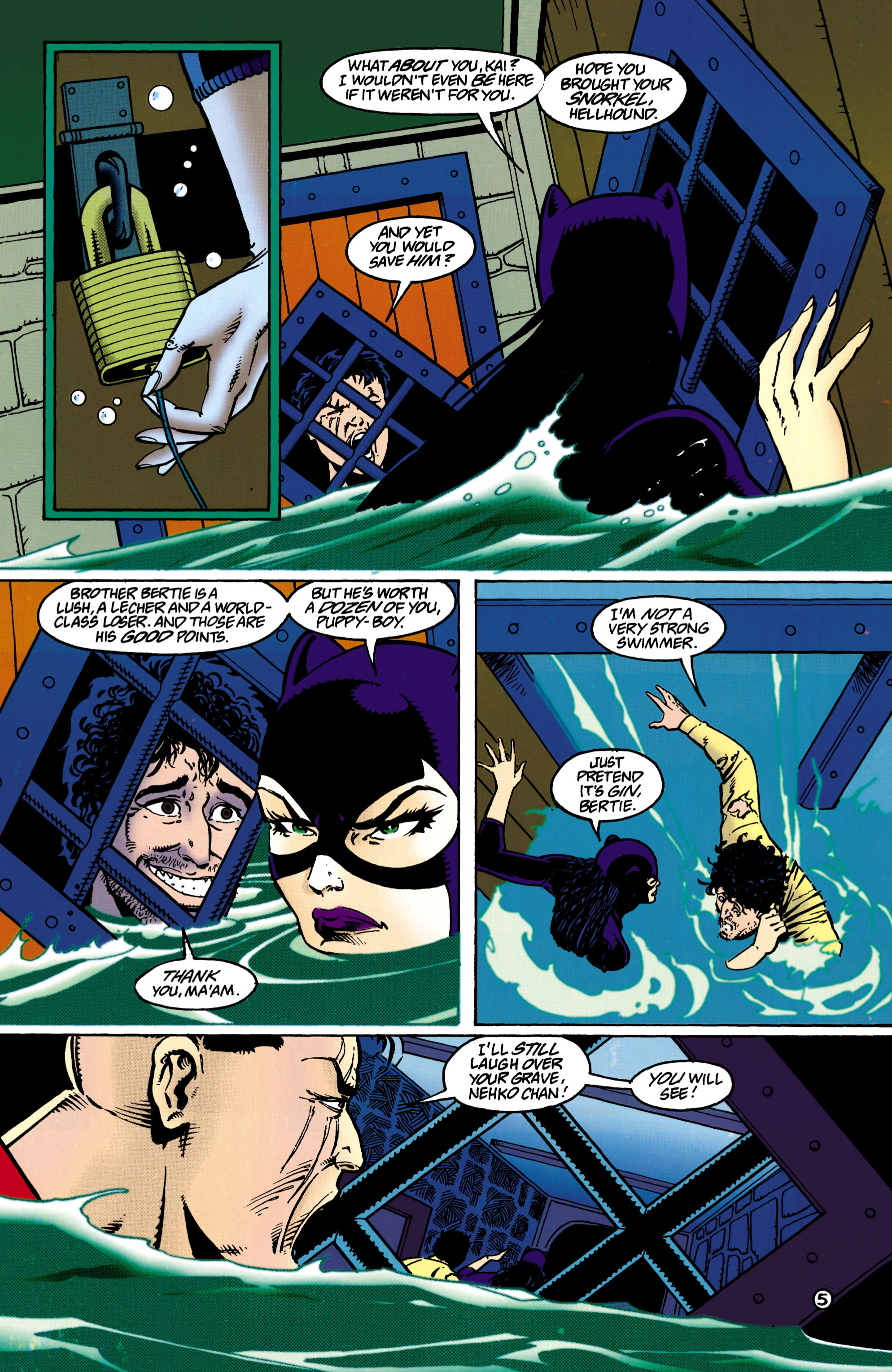 Catwoman (1993) Issue #36 #41 - English 6