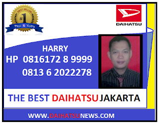 THE BEST SALES DAIHATSU JAKARTA TANGERANG DEPOK BEKASI