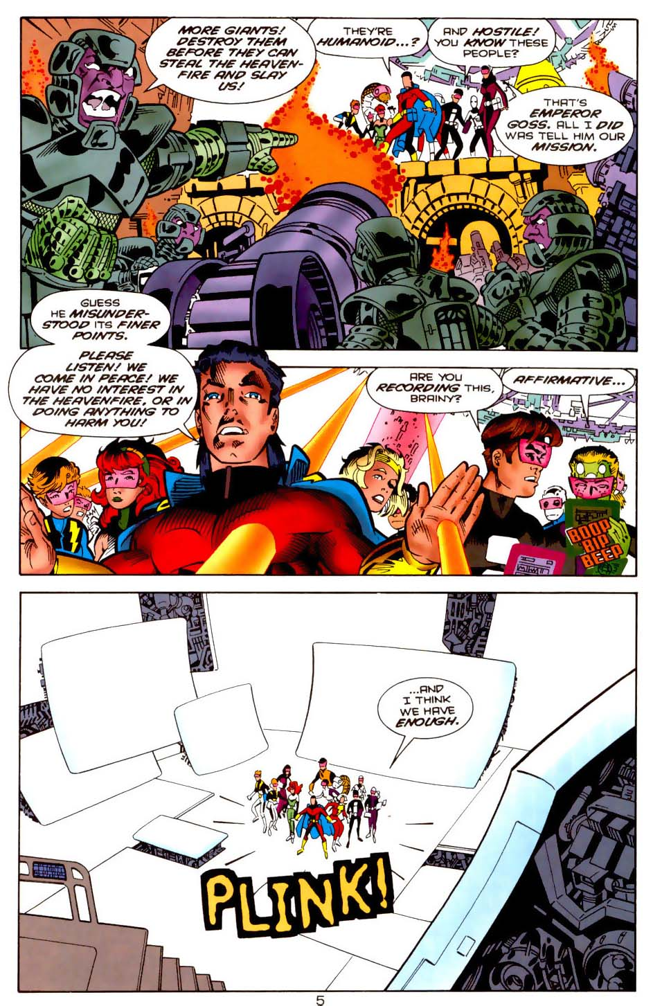 Legion of Super-Heroes (1989) 113 Page 4
