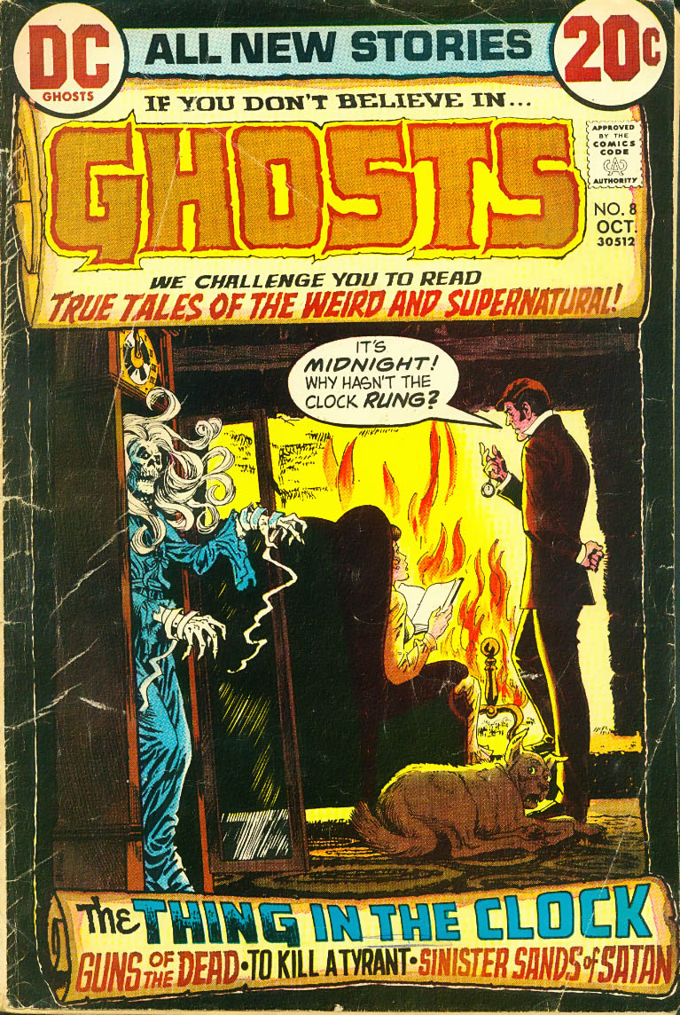 Read online Ghosts comic -  Issue #8 - 1