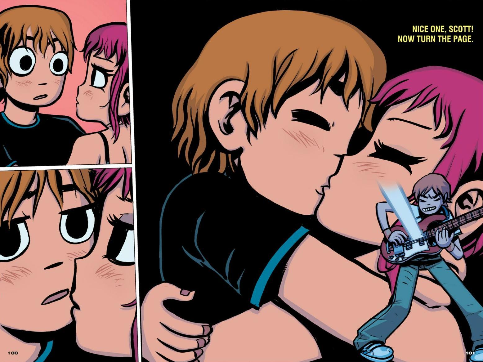Read online Scott Pilgrim comic -  Issue #1 - 91