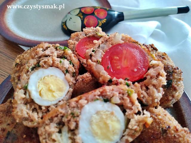 kotleciki faszerowane jajkami przepiórczymi