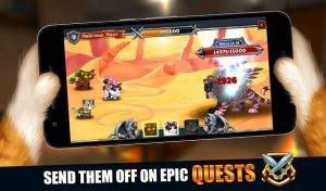 Castle Cats: Epic Story Quests MOD APK Unlimited Gold Gems 1.8.4