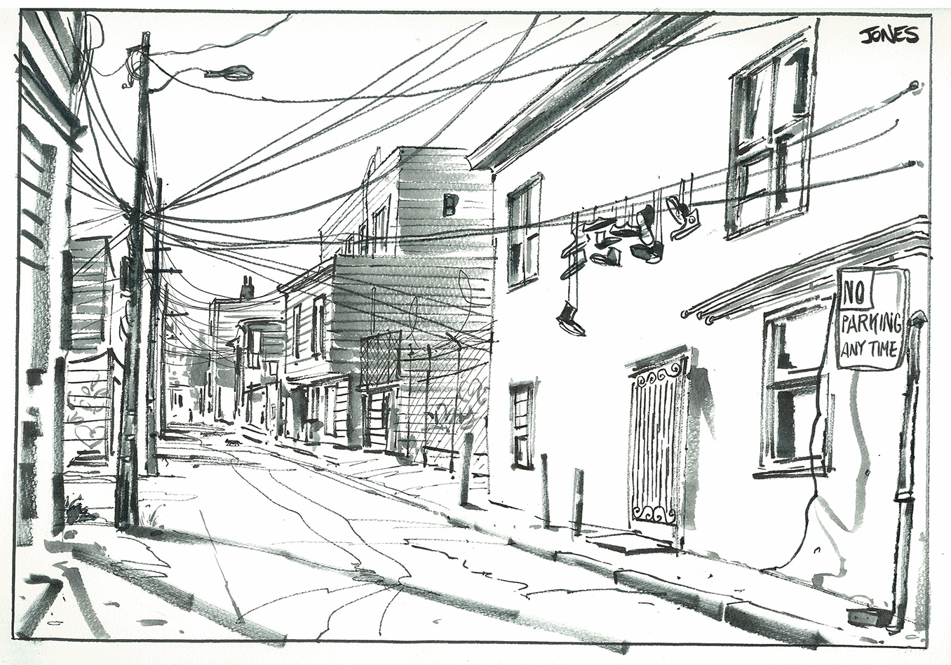 Matt Jones: Winter Sketchcrawl SFO