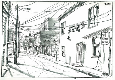 Matt Jones: Winter Sketchcrawl SFO