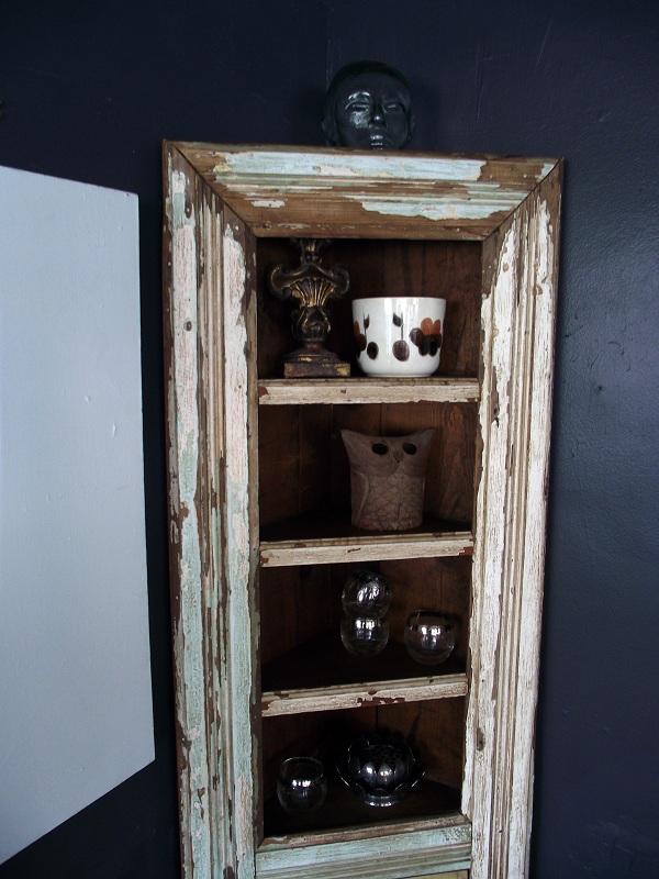 Antique White Cupboards