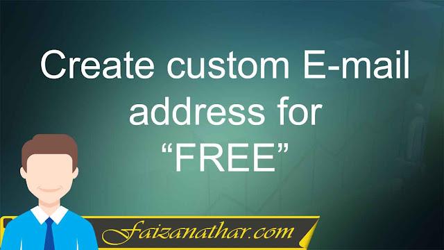 Free Custom Email address